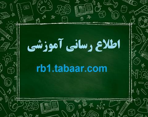 اطلاع رسانی آموزشی در ارتباط با تعطیلات عید نوروز